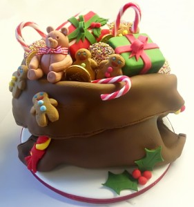 Chocolate Cake Christmas Design : My Mad Chocolate Christmas Cake for @askmollybeauty ...